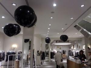 decoración globos helio