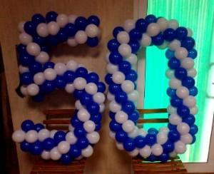 globos cumpleaños de Alfredo