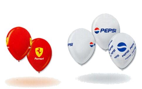 Globos Impresos Pepsi