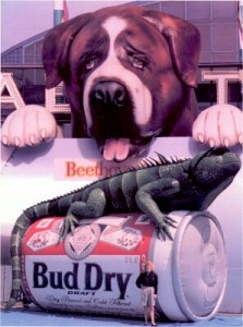 Globos Gigantes Bud Dry