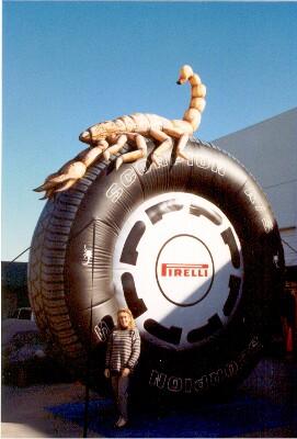 Globos Gigantes Pirelli