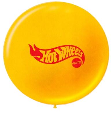 Globos Impresos Hotwheels