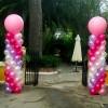 columnas con globos