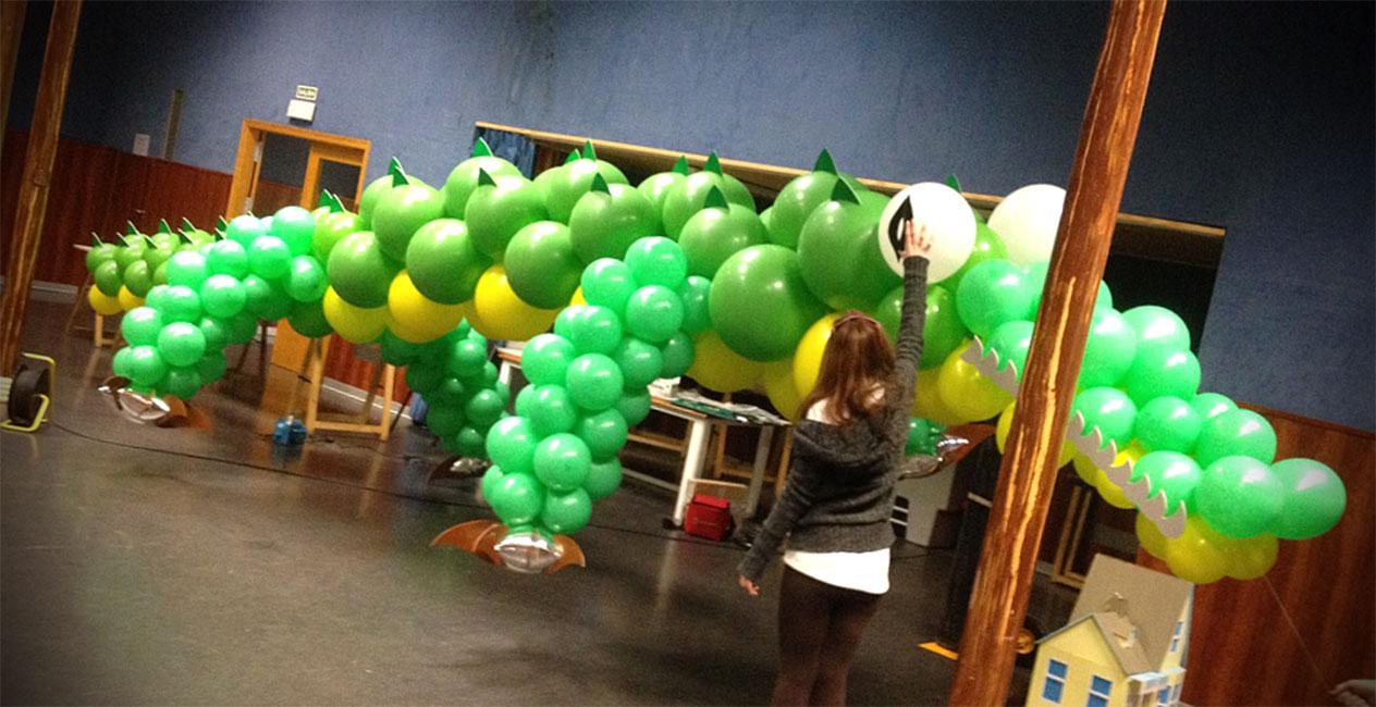 globos para cabalgatas