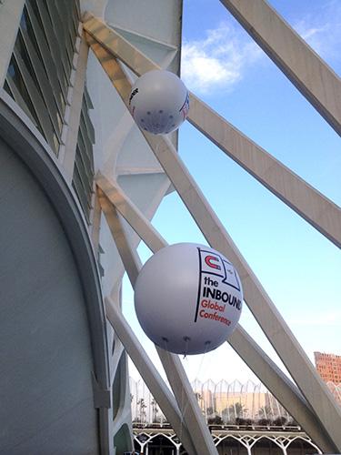 esferas hinchables gigantes