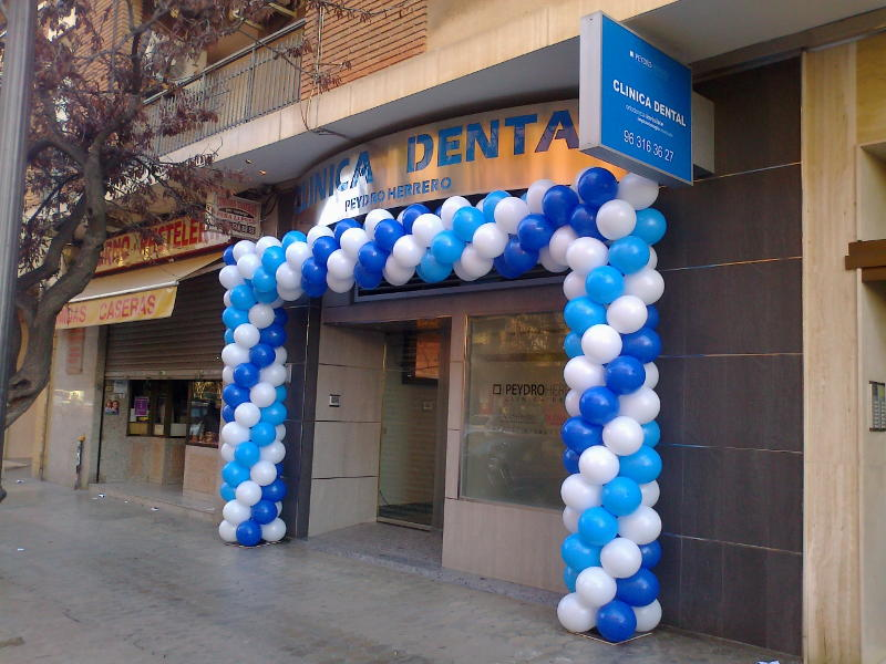 Globos Publicitarios Clínica Dental Peydro