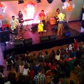 Globos JC en el Concierto de Candela y los Supremos