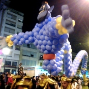 Globos cabalgata Reyes Valencia